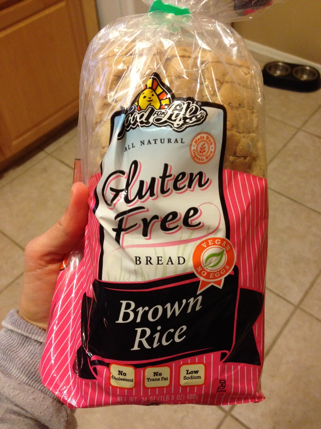 Food For Life Gluten Free Exotic Black Rice Bread